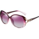 太陽鏡女士2020新款韓版潮防紫外線變色墨鏡眼睛時尚圓臉偏光眼鏡