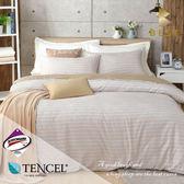 天絲床包兩用被四件組 加大6x6.2尺 波西米亞  頂級天絲 3M吸濕排汗專利 床高35cm  BEST寢飾