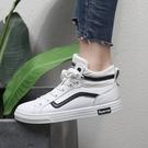 FINDSENSE品牌 四季款 新款 日本 女 高品質 簡約  個性 小白鞋 百