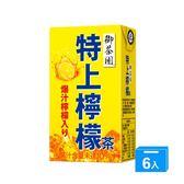 M-御茶園特上檸檬茶TP250ml*6【愛買】