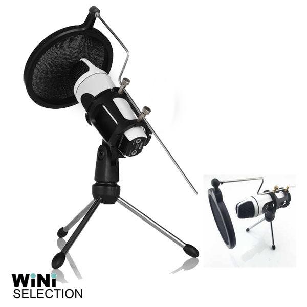 麥克風專用 防噴網罩支架  桌上型 天籟K歌 K歌神器 降噪  [ WiNi ]