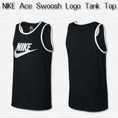 【現貨折後659】NIKE Ace Swoosh Logo Tank Top 背心 黑白 勾勾 吊嘎 779235-011