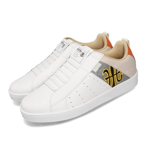 Royal Elastics 休閒鞋 Icon Manhood 白 灰 男鞋 運動鞋 【PUMP306】 02094082