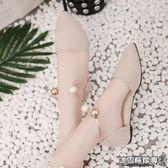 仙鞋包頭平底簡約羅馬鞋原宿風韓版百搭鞋