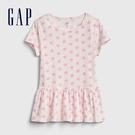 Gap女幼甜美風格印花短袖連衣裙5400...