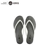QWQ創意鞋-星鑽銀 GLITTER人字拖鞋-(PU系列 )