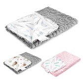 MAYLILY 竹纖柔雲毯(3款可選)防風毯|毛毯|透氣毯|推車蓋毯 |午睡毯(95x75cm)