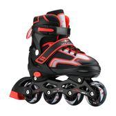 溜冰鞋成人成年旱冰鞋兒童旱冰鞋套裝男女直排輪滑鞋滑冰鞋初學者 igo時尚潮流
