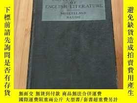 二手書博民逛書店CENTURY罕見TYPES OF ENGLISH LITERA