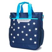 兒童補課包中小學生手提袋拎書袋補習袋男女孩側背包斜背包