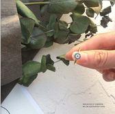 食指閨蜜戒指女網紅復古大氣開口指環