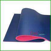 雙色瑜珈墊10mm(1公分瑜伽墊/NBR/超厚/運動墊/防滑/皮拉提斯/台灣製造)