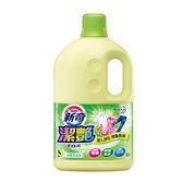 新奇 潔豔新型漂白水 淡雅花朵香瓶裝2000ml【花王旗艦館】