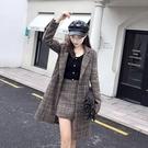 網紅潮人【現貨】女神范港味時髦洋氣套裝女秋冬時尚外套短褲兩件套N115A.8618胖胖唯依