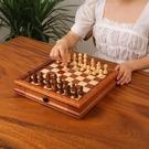 象棋 國際象棋實木磁性高檔西洋棋成人比賽...