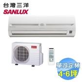 台灣三洋 SANLUX 單冷定頻一對一分離式冷氣 SAC-36FE / SAE-36FE