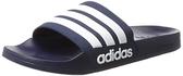 Adidas 男款深藍防水拖鞋-NO.AQ1703