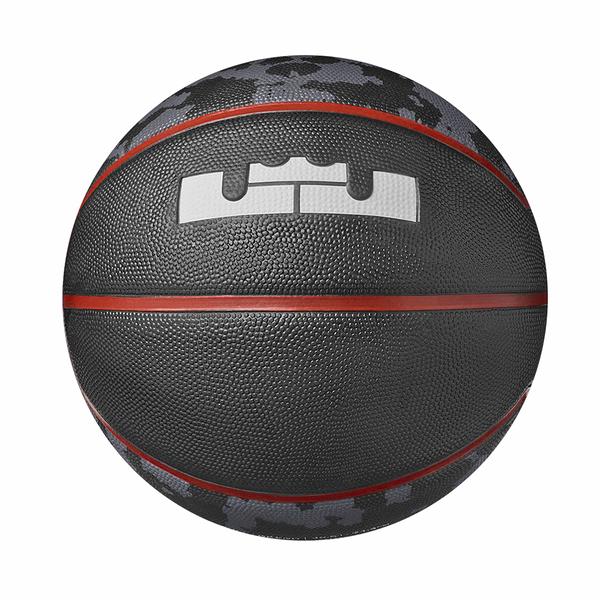 Nike Lebron Playground 4P [N000278493107] 籃球 7號 耐磨 控球佳 戶外 黑