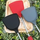 家用矽膠鍋鏟耐高溫不黏鍋專用鏟食品級矽膠不銹鋼鍋鏟不傷鍋 青山市集