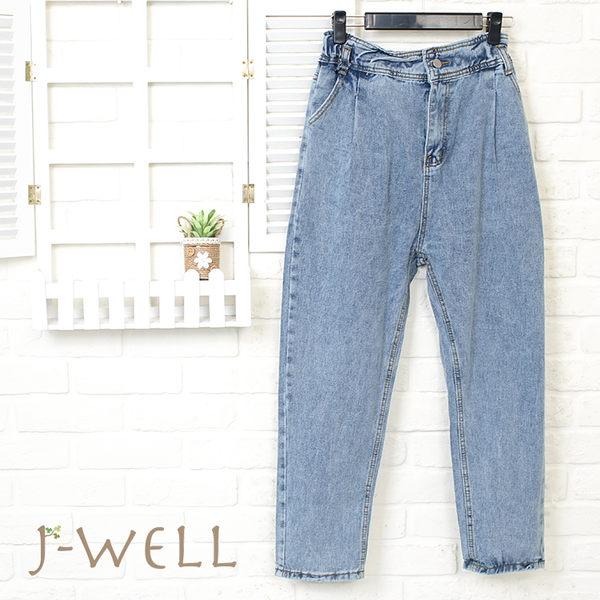J-WELL 鬆緊褲頭牛仔褲 8J1525