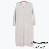 ❖ Winter ❖ 簡約素面連身針織洋裝 (提醒➯SM2僅單一尺寸) - Sm2