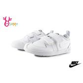 NIKE PICO 5 (TDV) 小童 寶寶休閒鞋 小白鞋 魔鬼氈穿搭板鞋 運動鞋 P7163#白色◆OSOME奧森鞋業