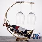 杯架歐式紅酒杯架倒掛架子家用簡約酒架紅酒架擺件【古怪舍】