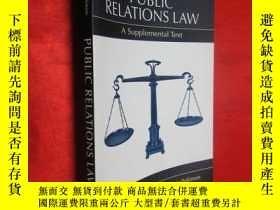 二手書博民逛書店Public罕見Relations Law: A Supplem