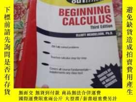二手書博民逛書店BEGINNING罕見CALCULUS Third EditionY186899 如圖 如圖