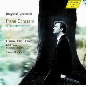 烏利格 潘德瑞茨基鋼琴協奏曲復活 CD(購潮8)