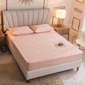 純棉床笠單件夾棉加厚席夢思床墊保護罩防滑固定床套床罩乳膠墊套 創時代3c館