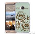 ✿ 3C膜露露 ✿【山茶花*立體浮雕硬殼】HTC ONE ME手機殼 手機套 保護套 保護殼
