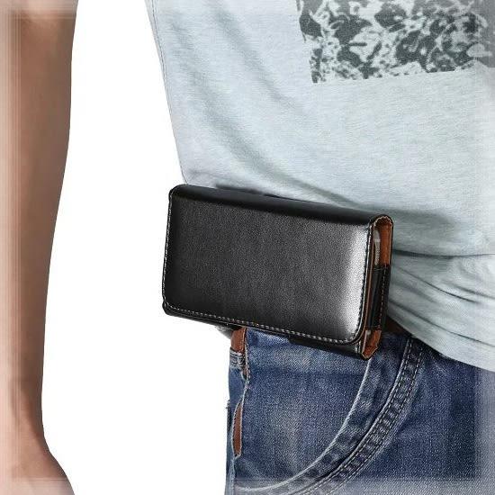 【5.3~5.7吋】iPhone 6 Plus/6S Plus/Galaxy S8+/A9/A8 羊皮紋 橫式手機腰掛皮套/旋轉夾式保護套