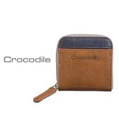 Crocodile Naturale 系列 Easy 輕巧方形拉鍊零錢包 0103-08101-02