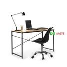 【特惠】跨境ebay亞馬遜現代簡易電腦桌臺式家用書桌學生寫字桌辦公桌【頁面價格是訂金價格】