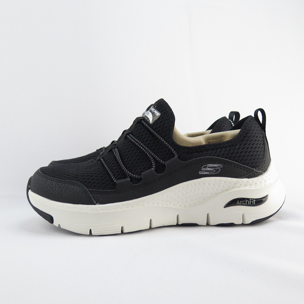 Skechers ARCH FIT - THOUGHTS 女款 健走鞋 149056WBKW 寬楦 黑【iSport】