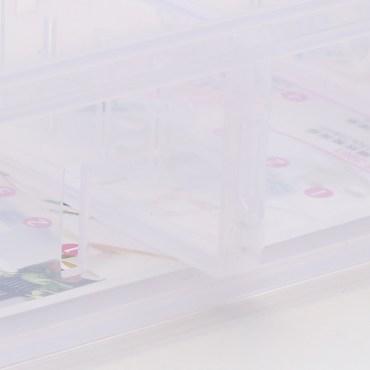 FINE 隔板整理盒 1.25L LF3003 26.6x12x5.7cm