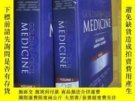二手書博民逛書店Goldman-Cecil罕見Medicine, (Volume 1,2) 【25TH EDITION】 大16開
