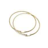 耳環 925純銀-獨特大方情人節生日禮物女耳針2色73gt122【時尚巴黎】