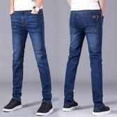 男牛仔長褲 單寧牛仔褲直筒 新款寬鬆休閒商務青年修身褲子男潮韓版男褲子cs1476