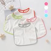簡單素色嬰兒口水巾 口水巾 嬰兒圍兜