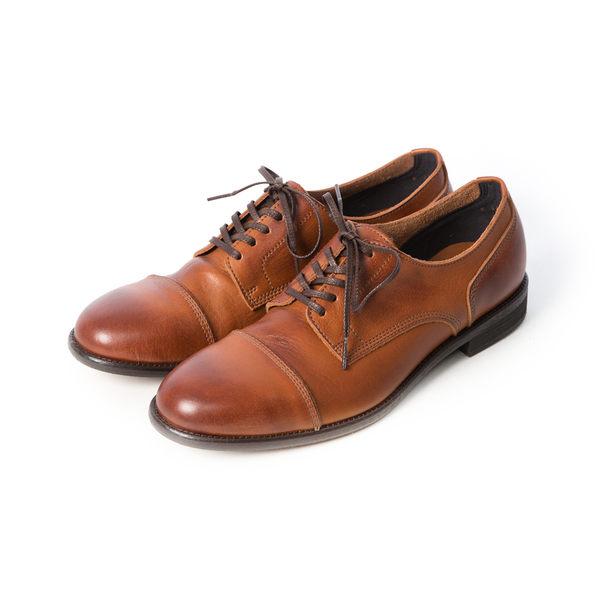 日本經典橫式德比紳士皮鞋 #21138咖啡 -ARGIS日本製手工皮鞋
