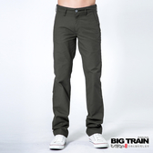 BIG TRAIN   BT斜紋小直筒-男-鐵灰-BM708586