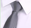 領帶 男士韓版窄領帶 拉鏈領帶易拉得 新郎結婚領帶商務正裝懶人領帶潮【快速出貨八折下殺】