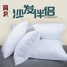 2只沙發抱枕芯/床上靠墊芯/方形枕芯/汽車腰枕/多【母親節禮物】