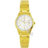 【台南 時代鐘錶 SIGMA】簡約時尚 藍寶石鏡面時尚數字女錶 88023L-G 土豪金 26mm 平價實惠的好選擇