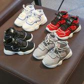 鞋子女童運動鞋透氣韓版男童小童白鞋潮【不二雜貨】