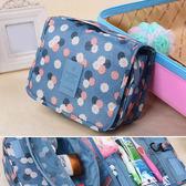 收納袋 彩繪手拿包可掛式多功能化妝包【MJF2016】 BOBI  05/12