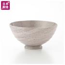 (日本製)輕量飯碗 粉白刷毛 NITORI宜得利家居