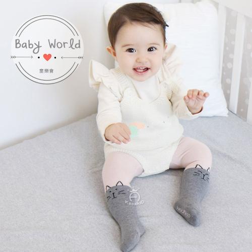 褲襪 寶寶 幼兒 貓咪 小熊 針織 包腳 襪子